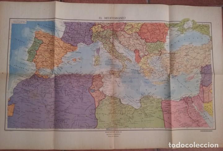 Libros antiguos: SALVADOR SALINAS Y BELLVER - ATLAS HISTORICO GENERAL Y DE ESPAÑA - SEGUNDA EDICION 1936 - Foto 9 - 134730138