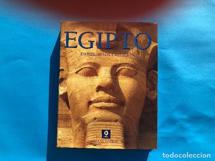 EGIPTO, DIOSES, MITOS Y REGLIGIÓN. LUCIA GAHLIN (Libros Antiguos, Raros y Curiosos - Geografía y Viajes)