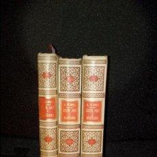 Libros antiguos: DESCRIPCIÓN DEL MADRID DEL XIX. FLORES ANTONIO. MUCHA NOTICIA. AYER, HOY Y MAÑANA.. Lote 135928182