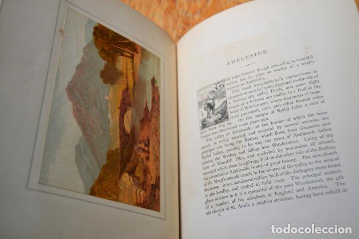 Libros antiguos: OUR NATIVE LAND * Scenery 36 Water-Color Sketches 1880 * ROWBOTHAM READ NEEDHAM * 27CMX23CM - Foto 7 - 135939342