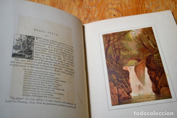 Libros antiguos: OUR NATIVE LAND * Scenery 36 Water-Color Sketches 1880 * ROWBOTHAM READ NEEDHAM * 27CMX23CM - Foto 8 - 135939342