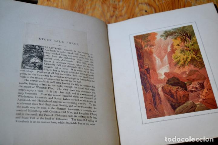 Libros antiguos: OUR NATIVE LAND * Scenery 36 Water-Color Sketches 1880 * ROWBOTHAM READ NEEDHAM * 27CMX23CM - Foto 10 - 135939342
