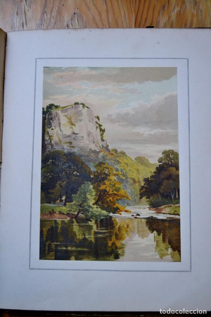 Libros antiguos: OUR NATIVE LAND * Scenery 36 Water-Color Sketches 1880 * ROWBOTHAM READ NEEDHAM * 27CMX23CM - Foto 13 - 135939342