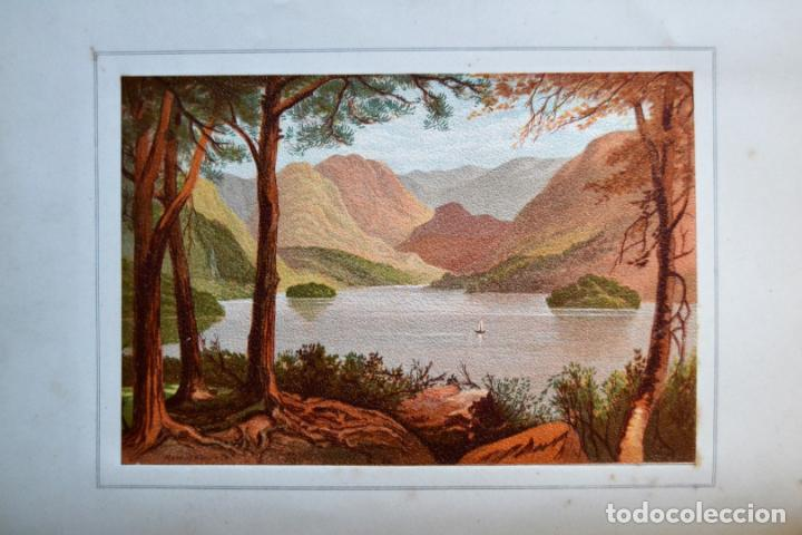 Libros antiguos: OUR NATIVE LAND * Scenery 36 Water-Color Sketches 1880 * ROWBOTHAM READ NEEDHAM * 27CMX23CM - Foto 14 - 135939342