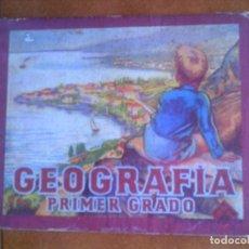 Libros antiguos: LIBRO DE ESTUDIOS GEOGRAFIA PRIMER GRADO EDITORIAL LUIS VIVES AÑO 1953. Lote 136121430