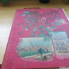 Libros antiguos: ÁLBUM LA ESPAÑA ILUSTRADA. 105 FOTOTIPIAS. FINALES SIGLO XIX. SEVILLA, BILBAO, HUELVA, SANTANDER Y +. Lote 136124517