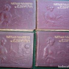 Libros antiguos: PORTAFOLIO FOTOGRAFICO DE ESPAÑA COMPLETO. Lote 136296334