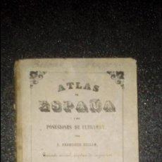 Libros antiguos: COELLO. MAPA DE VIZCAYA. Lote 136300854