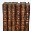 Libros antiguos: LA VUELTA AL MUNDO,DE GASPAR Y ROIG- 6 TOMOS-MADRID-1868.. Lote 136484446