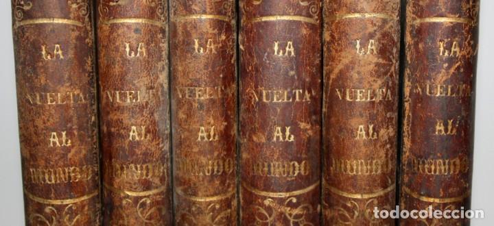 Libros antiguos: LA VUELTA AL MUNDO,DE GASPAR Y ROIG- 6 TOMOS-MADRID-1868. - Foto 3 - 136484446