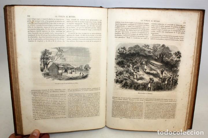 Libros antiguos: LA VUELTA AL MUNDO,DE GASPAR Y ROIG- 6 TOMOS-MADRID-1868. - Foto 6 - 136484446