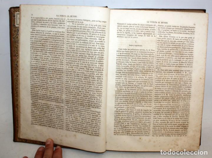Libros antiguos: LA VUELTA AL MUNDO,DE GASPAR Y ROIG- 6 TOMOS-MADRID-1868. - Foto 9 - 136484446