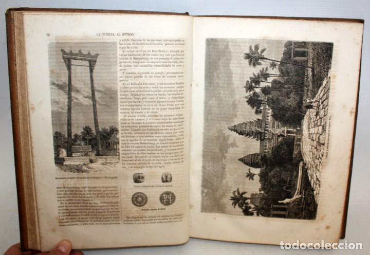 Libros antiguos: LA VUELTA AL MUNDO,DE GASPAR Y ROIG- 6 TOMOS-MADRID-1868. - Foto 11 - 136484446