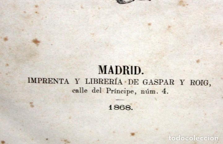 Libros antiguos: LA VUELTA AL MUNDO,DE GASPAR Y ROIG- 6 TOMOS-MADRID-1868. - Foto 16 - 136484446