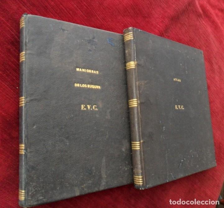 Libros antiguos: Arte De Aparejar Y Maniobras De Los Buques 2 Tomos. Madrid 1859. Darcy Lever. - Foto 6 - 124497055