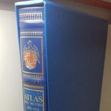 Libros antiguos: ATLAS DEL MUNDO 1492-1992 CARTOGRAFÍA ANTIGUA. Lote 137327050
