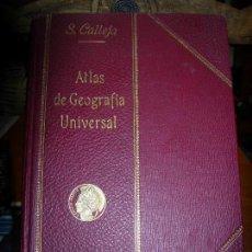 Libros antiguos: ATLAS DE GEOGRAFIA UNIVERSAL / S.CALLEJA / 1913. Lote 137447266