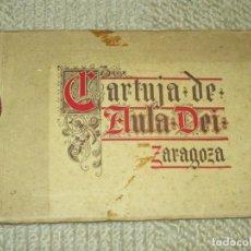 Libros antiguos: ÁLBUM DE LA CARTUJA DE AULA DEI, ZARAGOZA, 1935, POR JOSÉ DE CASTRO GÓMEZ. Lote 138984650