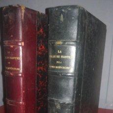Libros antiguos: LA VILLE DE NANTES ET LA LOIRE-INFÉRIEURE. Lote 139094942
