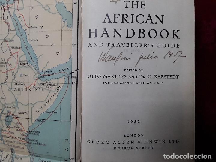 Libros antiguos: THE AFRICAN HANDBOOK AND TRAVELLER S GUIDE,MANUAL AFRICANO Y GUÍA PARA VIAJEROS - Foto 2 - 139296962