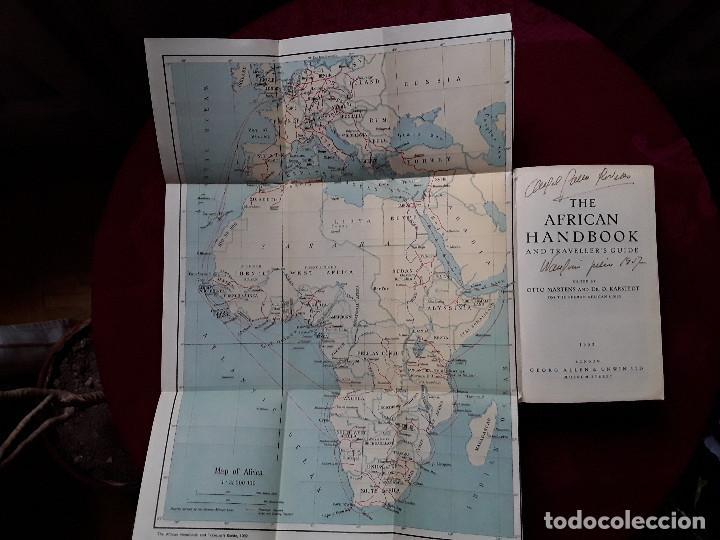 Libros antiguos: THE AFRICAN HANDBOOK AND TRAVELLER S GUIDE,MANUAL AFRICANO Y GUÍA PARA VIAJEROS - Foto 3 - 139296962