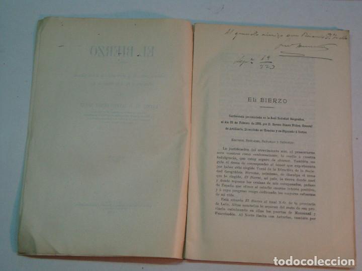 Libros antiguos: Severo Gómez Núñez: El Bierzo (1928) - Foto 4 - 140194186