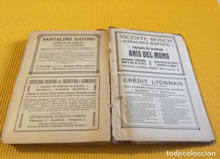 Libros antiguos: Atención coleccionistas antiguo libro noticiero guía de Madrid 1911 contiene el dificilísimo mapa - Foto 10 - 140562066