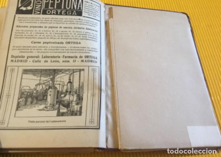Libros antiguos: Atención coleccionistas antiguo libro noticiero guía de Madrid 1911 contiene el dificilísimo mapa - Foto 12 - 140562066