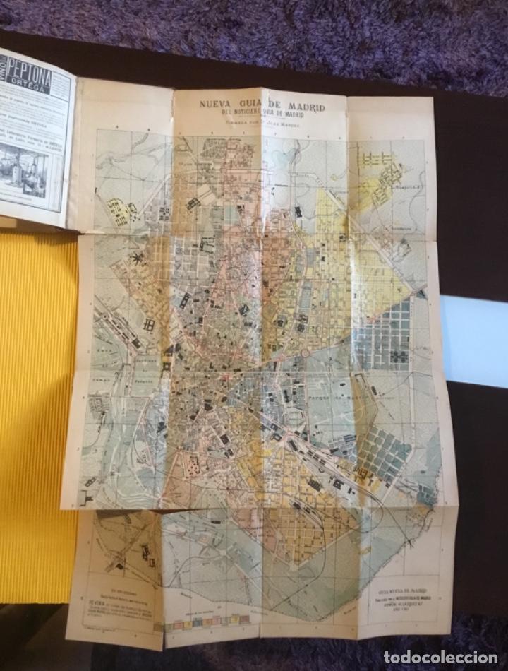 Libros antiguos: Atención coleccionistas antiguo libro noticiero guía de Madrid 1911 contiene el dificilísimo mapa - Foto 13 - 140562066
