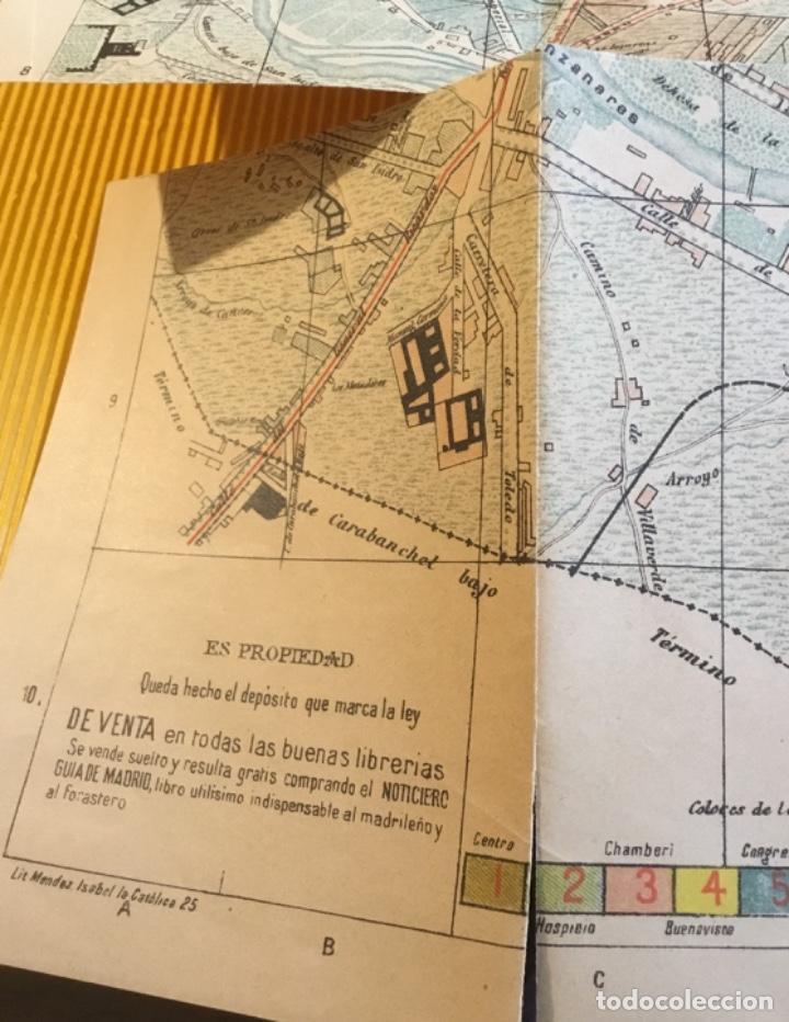Libros antiguos: Atención coleccionistas antiguo libro noticiero guía de Madrid 1911 contiene el dificilísimo mapa - Foto 16 - 140562066
