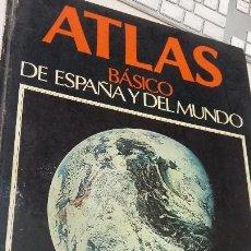 Libros antiguos: ATLAS BASICO DE ESPAÑA Y DEL MUNDO EDIGOL. Lote 141648838