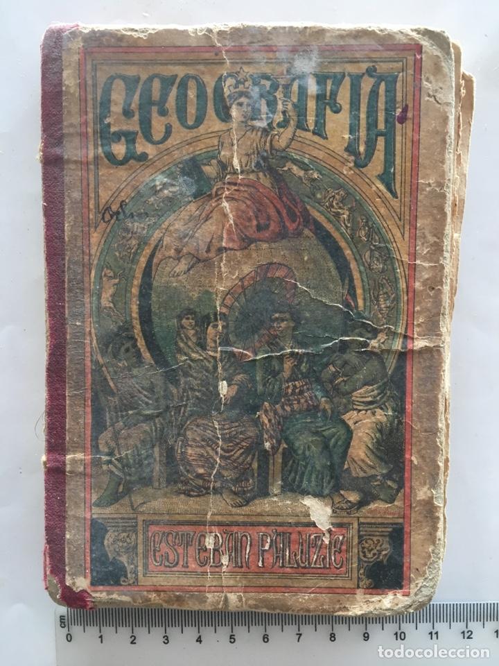 Libros antiguos: GEOGRAFÍA PARA NIÑOS. POR ESTEBAN PALUZIE. BARCELONA, 1889. - Foto 2 - 141769565