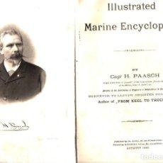 Libros antiguos: CAP. PAASCH : ILLUSTRATED MARINE ENCYCLOPEDIA (ANTWERP, 1860). Lote 142776650
