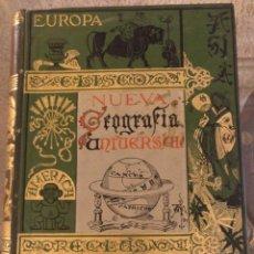Libros antiguos: NUEVA GEOGRAFÍA UNIVERSAL, LA TIERRA Y LOS HOMBRES POR ELISEO RECLUS, TOMO 2 EUROPA MEDITERRÁNEA C.. Lote 142821990