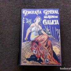 Libros antiguos: MANUEL AMOR MEILÁN. GEOGRAFÍA GENERAL DEL REINO DE GALICIA. PROVINCIA DE LUGO. ED. ALBERTO MARTÍN. . Lote 143486974