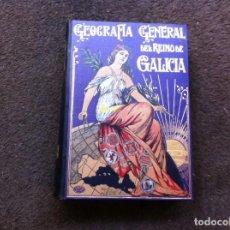 Libros antiguos: GERARDO ALVAREZ LIMESES. GEOGRAFÍA GENERAL DEL REINO DE GALICIA. PONTEVEDRA. ED. ALBERTO MARTÍN. . Lote 143489534