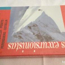 Libros antiguos: PARQUE POSETS MADELETA-MACIZO -PUNTA SUELZA-PERDIGUERO-COTIELLAEXCURSIONES CON ESQUIES-NUEVO PRECI. Lote 143542014