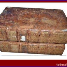 Libros antiguos: 2 TOMOS DE GEOGRAFÍA DEL SIGLO XVIII: VIZCAYA, FERROL,LEMOS,MÉXICO,GUETARIA,ASTURIAS,GALICIA,LEON.... Lote 147627014