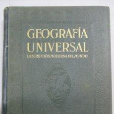 Libros antiguos: GEOGRAFÍA UNIVERSAL. DESCRIPCIÓN MODERNA DEL MUNDO. 1929. TOMO III. ESPAÑA Y PORTUGAL. PENÍNSULA. Lote 144423854
