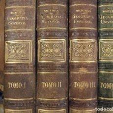 Libros antiguos: NUEVA GEOGRAFIA UNIVERSAL 4 TOMOS - SAINT MARTIN , MAURI , BEAUDAIN ...- MONTANER Y SIMON 1881. Lote 144562434
