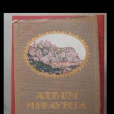 Libros antiguos: ALBUM MERAVELLA. LLIBRE DE PRODIGIS D'ART I NATURA. VOLUM I. Lote 144729594