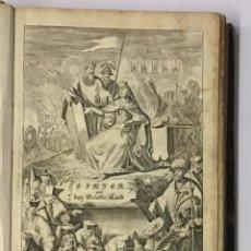 Libros antiguos: ASIA, ODER GENAUE UND GRÜNDLICHE BESCHEREIBUNG DER GANTSZEN SYRIEN UND PALESTINS... DAPPER, OLFERT.. Lote 145516890