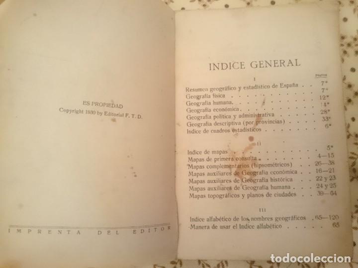 Libros antiguos: ESPAÑA EN LA MANO - AÑO 1930 -TAPAS MAL ESTADO -VER FOTOS - Foto 4 - 145777418