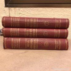 Libros antiguos: NUEVA GEOGRAFÍA UNIVERSAL. ED. ESPASA CALPE 1928. 3 TOMOS. VV.AA.. Lote 146544490