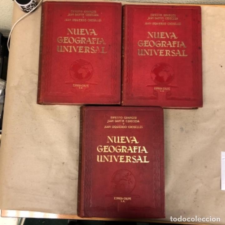 Libros antiguos: NUEVA GEOGRAFÍA UNIVERSAL. ED. ESPASA CALPE 1928. 3 TOMOS. VV.AA. - Foto 2 - 146544490