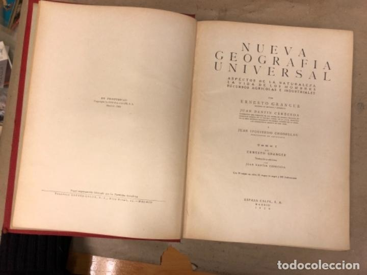 Libros antiguos: NUEVA GEOGRAFÍA UNIVERSAL. ED. ESPASA CALPE 1928. 3 TOMOS. VV.AA. - Foto 4 - 146544490