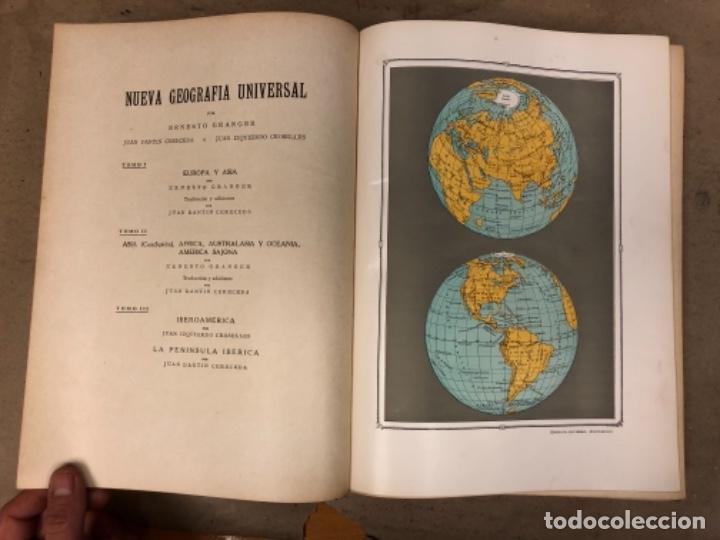 Libros antiguos: NUEVA GEOGRAFÍA UNIVERSAL. ED. ESPASA CALPE 1928. 3 TOMOS. VV.AA. - Foto 5 - 146544490