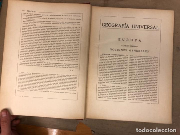 Libros antiguos: NUEVA GEOGRAFÍA UNIVERSAL. ED. ESPASA CALPE 1928. 3 TOMOS. VV.AA. - Foto 6 - 146544490