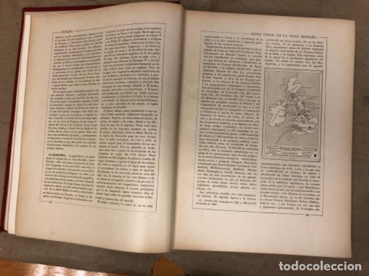 Libros antiguos: NUEVA GEOGRAFÍA UNIVERSAL. ED. ESPASA CALPE 1928. 3 TOMOS. VV.AA. - Foto 8 - 146544490