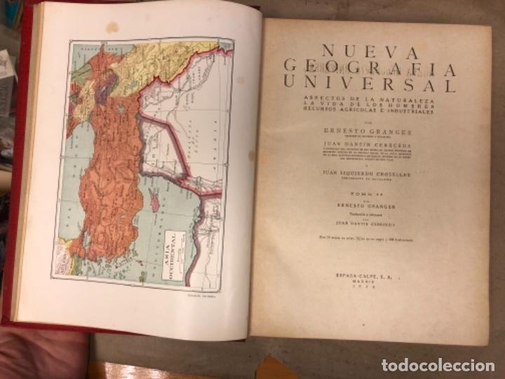 Libros antiguos: NUEVA GEOGRAFÍA UNIVERSAL. ED. ESPASA CALPE 1928. 3 TOMOS. VV.AA. - Foto 19 - 146544490